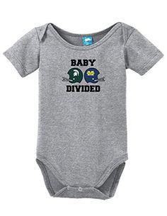 Michigan State U of M Baby Divided