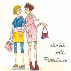 Freundinnen  Fairly best of friends © Barbara Freundlieb