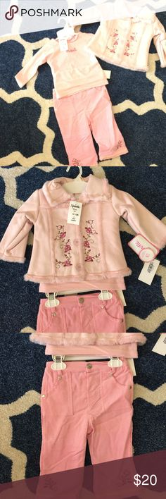 NEW🌸pink faux suede button coat🌺pants🌷top🎀set So sweet💗 so soft 💐. No trades Nannette Matching Sets