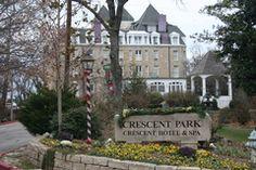 Crescent Park Hotel & Spa  Eureka Springs, AR  Christmas