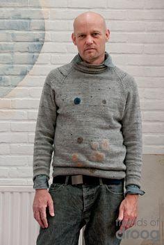 .. Woolfiller by Heleen Klopper voor gaatjes in Kaatjes trui.  :-)
