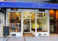 La Maison du Macaron-one of my favorite coffee shops with the most to die for macaroons.     http://www.nymacaron.com/  (212) 243-2757  Chelsea  132 West 23rd Street   New York, NY 10011