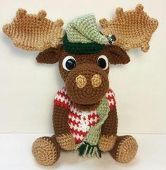 Amigurumi Christmas Moose