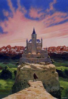 Fantasy Castle I don't how many times I've seen el Alcazar used as inspiration for a fantasy castle.