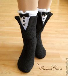 Diy Crafts Crochet, Diy Crochet And Knitting, Crochet Humor, Crochet Socks, Cute Crochet, Knitting Socks, Crochet Baby, Funny Socks, Cute Socks