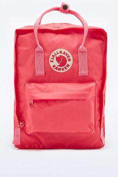 Fjallraven Kanken Classic Peach Pink Backpack