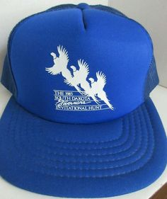 Vintage 1985 South Dakota Governor's Invitational Hunt Baseball Cap  #BaseballCap