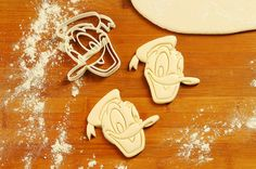 Mickey Mouse and Donald Duck Cookie Cutter make by CBACookieCutter