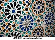 Floral pattern: ceramic tile mosaic in the Alhambra - Buy this stock photo and explore similar images at Adobe Stock Ceramic Tile Art, Mosaic Tiles, Tiling, Islamic Tiles, Islamic Art, Nobel Prize In Chemistry, Geometric Designs, Geometric Patterns, Star Shape