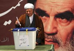 Former Iranian President Akbar Hashemi Rafsanjani casts his ballot in a parliamentary election in Tehran March 2, 2012. REUTERS/Stringer/Files