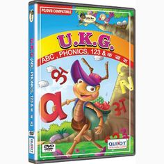 Buy VCD for U.K.G Children to Learn and Fun — A very nice way to teach kids alphabets, phonics, numbers, and hindi varnmala through animated and voice over by funny cartoon characters. Kid's will find it very interesting to learn all things with their favourite jungle book characters.