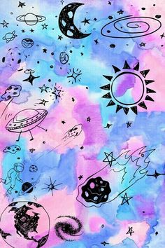 Space Phone Wallpaper, Ios 7 Wallpaper, Cartoon Wallpaper Iphone, Friends Wallpaper, Cute Wallpaper Backgrounds, Galaxy Wallpaper, Dope Wallpapers, Cute Cartoon Wallpapers, Cute Patterns Wallpaper