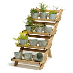 pot stand - I think I can make this from an old pallet