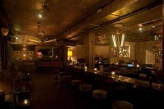 Trust sports a dimly lit interior, with beautiful exposed concrete, gold details, and vintage chandeliers. Drinks-wise, you can't miss with any of the craft 'tails on the menu, and you should...