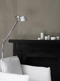 ✭ black and white decor