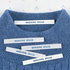 Miles Kimball iron on/sew on clothing name labels give you the convenience of easy application, no matter your preferred method. Name Labels, Clothing Tags, Cool Things To Buy, Stuff To Buy, Sewing Crafts, Iron, Names, Zoom Zoom, Christmas Time