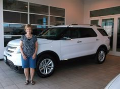 TAMBRA's new 2014 FORD EXPLORER! Congratulations and best wishes from Landmark Ford and DEVON CAMPBELL.
