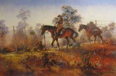 Riding the Dingo Fence by D'Arcy Doyle
