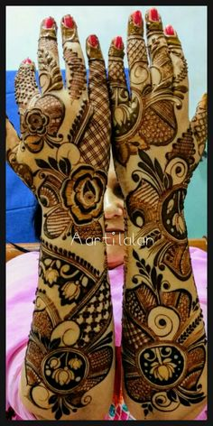 Arabic Bridal Mehndi Designs, Pakistani Henna Designs, Engagement Mehndi Designs, Peacock Mehndi Designs, Modern Mehndi Designs, Dulhan Mehndi Designs, Mehndi Design Pictures, Beautiful Henna Designs, Mehendi