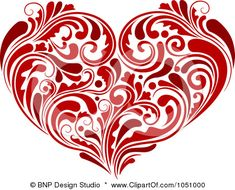 Royalty-free clipart picture of a curly vine heart, on a white background. This royalty-free cartoon styled clip art picture is available as a fine art print and poster. Royalty-Free (RF) Clipart Illustration of a Curly Vine Heart by BNP Design Studio Free Clipart Images, Royalty Free Clipart, Heart Clip Art, Heart Art, Art And Illustration, Heart Template, Free Art Prints, I Love Heart, Flourish