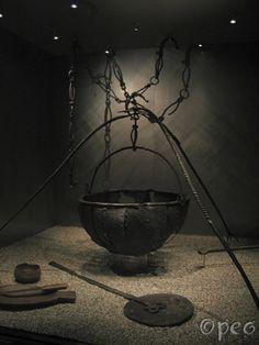 Oseberg cauldron Viking cooking vessel