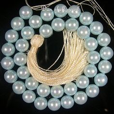 Light Blue Swarovski Pearl Round Loose Beads by DanLooseStone, $6.34