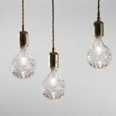 Crystal Bulb and Pendant