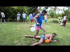 Balloon Game Gay SCUBA Week Beqa Lagoon Fiji - YouTube Toilet Paper Games, Balloon Games, Fiji, Olympics, Balloons, Gay, Youtube, Globes, Balloon