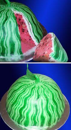 Watermelon Slice Watermelon Slice *All Buttercream #top-cakes ...