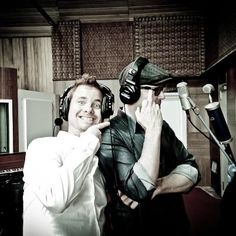 We're almost finished with Tony Mortimer's new album.   A great production by Bob Rose, crystallising beautifully crafted songs by Tony.       Photo of Tony Mortimer and Gregory Darling by: Julian Lennon