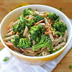 Very Veggie Pasta Salad HealthyAperture.com