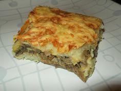 Lasagna, Ethnic Recipes, Food, Meal, Essen, Hoods, Meals, Eten, Lasagne