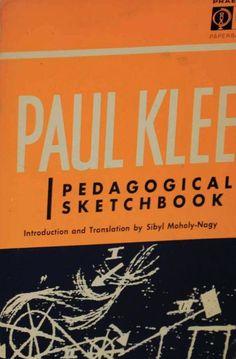 Paul Klee. Pedagogical Sketchbook. 1968.