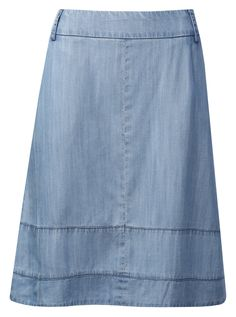 A-line skirt, mid-length - Casual, chic dressing at its finest!
