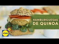 Hamburguesas De Quinoa - Recetas BIO - YouTube