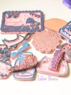 My stamping book! ♥ Mi libro de sellos! | Ishtar Olivera