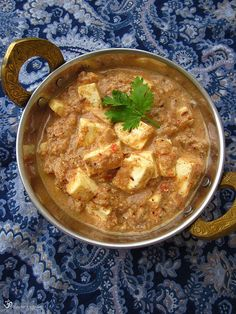 Paneer Kolhapuri Indian Cheese, Indian Food Recipes, Ethnic Recipes, Thai Red Curry, Good Food, Coconut, Indie, Indian Recipes, Clean Eating Foods