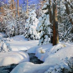 Michael Godfrey landscape oil paintings - Page 3