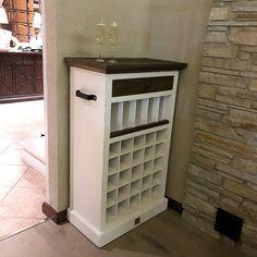 Riviera Maison Driftwood Wine Cabinet