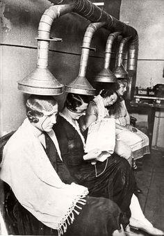 "semioticapocalypse: "" Emil Strassberg. A hair salon in Moscow, Russia. 1933 [::SemAp Twitter    SemAp::] """