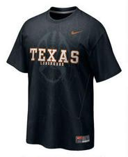 Texas Longhorns Black Nike 2011 Official Football Practice T-Shirt