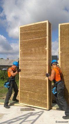 Building process   Eco Cocon English