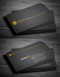 My profile link> https://www.fiverr.com/s2/1b3eab9cb9 Business cards can be a reflection of who you are. Not only can you make an excellent first impression all on your own, but a unique business card can help seal the deal and give someone something to remember you by.