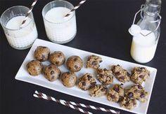 Chocolate chip cookie dough-dessert | Costume.dk