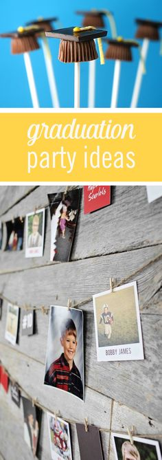 Is a diploma on the horizon? Celebrate graduation with these smart party ideas! From what to eat to decoration ideas, these budget and time friendly ideas will make your grad's party a success. Click for these easy graduation party ideas.