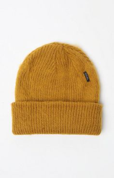 564d10e960abb The Scotty Beanie for men by Coal offers a solid coloring throughout with a  folded hem