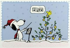 Snoopy and the Woodstock Christmas Choir.