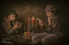 Just a poker game.... by Ettie van der Meulen on 500px