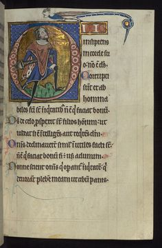 """This English manuscript was made in East Anglia in the mid-thirteenth-century for a patron with special veneration for St. Olaf, whose life and martyrdom is prominently portrayed in the """"Beatus"""" initial of Psalm 1. Known as the """"Carrow Psalter,"""" due to its later use by the nunnery of Carrow near Norwich, it is more accurately described as a Psalter-hours, as it contains the Office of the Dead, the Hours of the Virgin, and Collects. The manuscript is striking for its rich variety of…"""