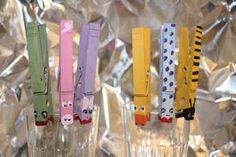 Clothes pin animals!!!